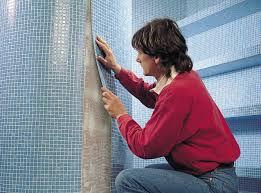 poser du lino mural dans la salle de bain ? zen-habitat ... - Lino Dans Salle De Bain